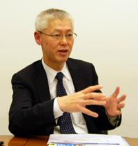シーメンスPLMソフトウェア日本法人 代表取締役社長 三澤一文氏