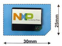 写真1 NXP社が開発したGPS/GSM通信モジュール「ATOP」