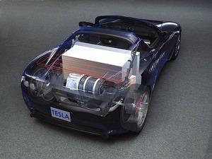 写真2 TeslaRoadsterのデジタルモックアップ(提供:TeslaMotors社)