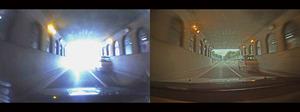 写真4 HDRカメラ(右)と一般的なCMOSセンサーの画像比較(提供:セイコーエプソン)