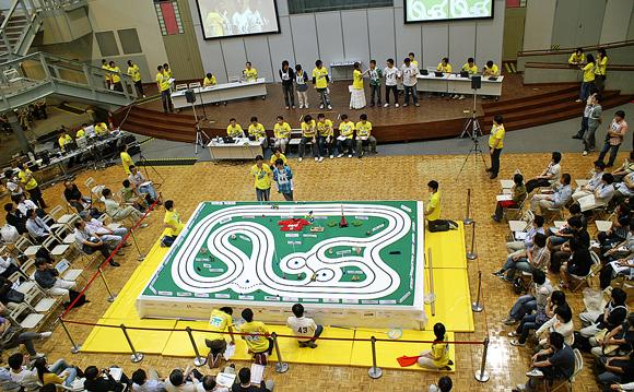 ETロボコン2008関東地区大会の様子