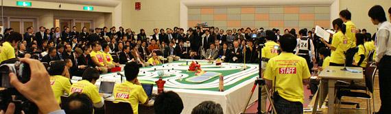 ETロボコン2008 チャンピオンシップ大会の様子