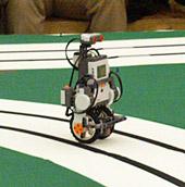 新走行体のLEGO MindstormのNXC