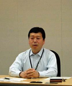デジタルプロセス業務部 部長 吉野琢也氏