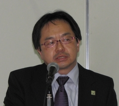 写真2 日産自動車の野辺継男氏
