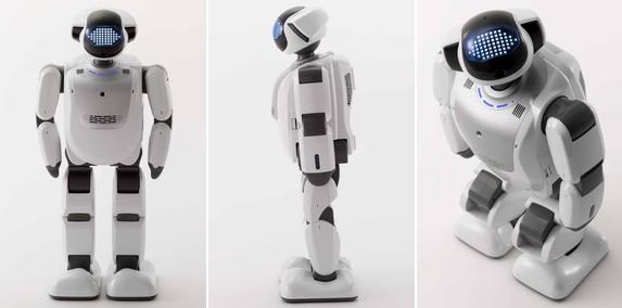知能化技術を統合させたヒューマノイドロボット「PALRO」