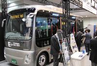 写真1北陸電力が開発した電気バス