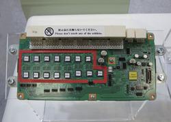写真3デンソーのLiイオン電池監視ユニット