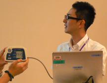 Bluetooth内蔵 血圧計