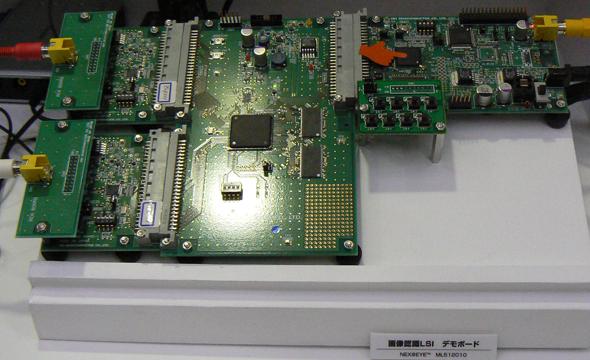 ML512010を搭載したデモボード
