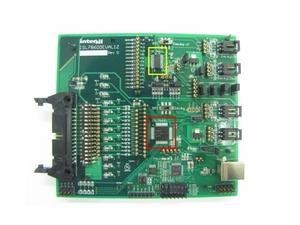 写真2 「ISL78600」と「ISL78601」を搭載した開発ボード
