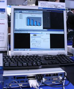 画像15 INtimeによるアナログ計測のデモ