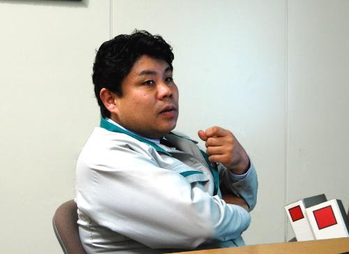 やまびこ 開発本部 技術管理部 製品取説課 主任の田中 剛氏