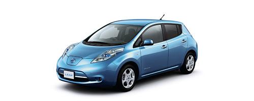 図1 日産自動車の電気自動車LEAF