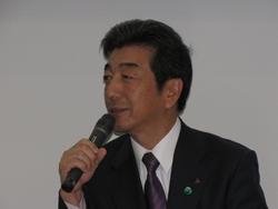 写真1 三菱電機の山西健一郎氏