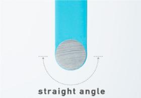先端の形状