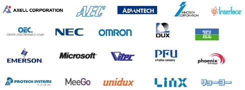 インテル・ブースに出展するエコパートナー20社