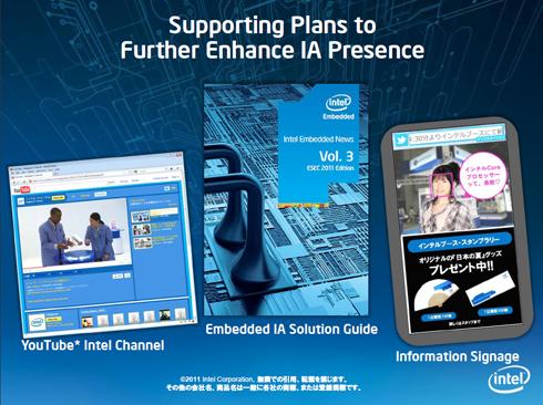 ESEC2011インテル・ブースの付随情報