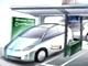 トヨタ自動車、電気自動車の無線充電に取り組む