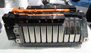 写真2 Liイオン電池モジュール