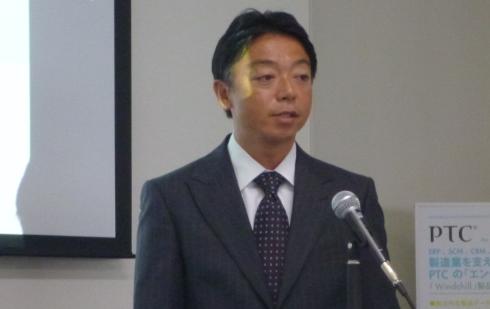 PTCジャパン 社長 桑原宏昭氏