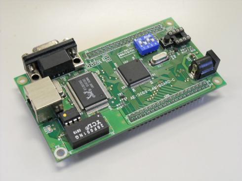 図1 本連載で利用するH8/3069Fマイコンボード
