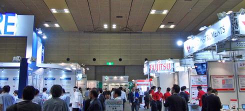 ETWest2011展示会場の様子