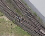 線路上に設置された磁気センサー