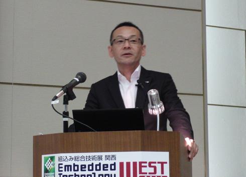 シャープ 通信システム事業本部 副本部長 新井優司氏
