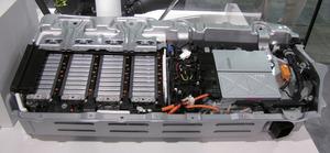 写真4「シビックハイブリッド」のLiイオン電池パック