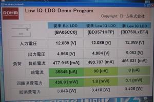 図1 LDOレギュレータICの比較結果