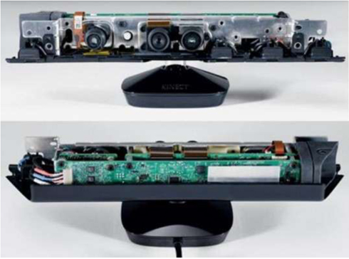 Kinectセンサー(内部)