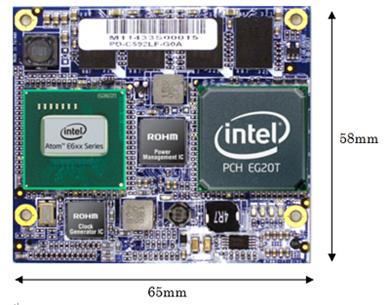 「CoreE600」の製品イメージ