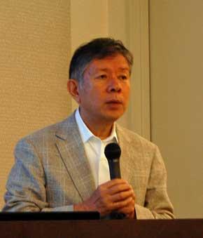 SIM-Drive 代表取締役社長 清水浩氏