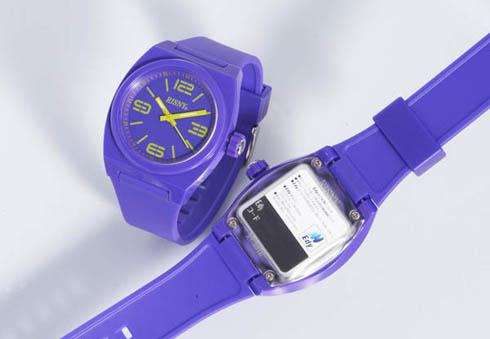 電子マネーEdy搭載の腕時計「RISNY」