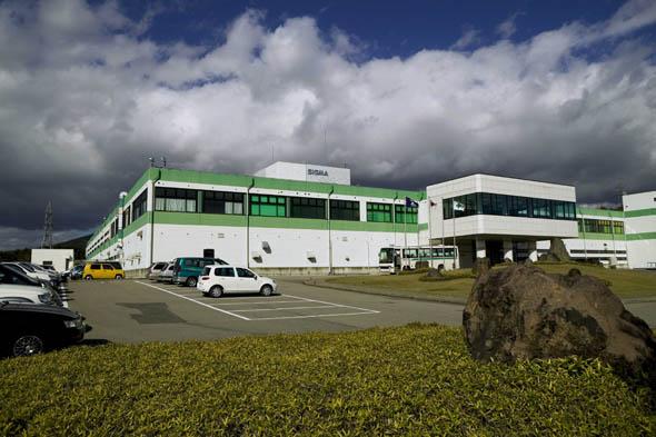 シグマの会津工場