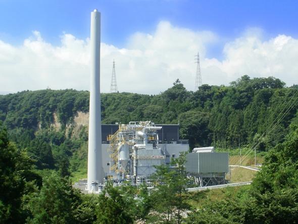吾妻木質バイオマス発電所