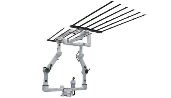 液晶ガラス基板搬送ロボット「MOTOMAN-CDL3000D」
