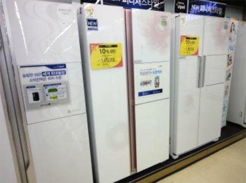 韓国の冷蔵庫