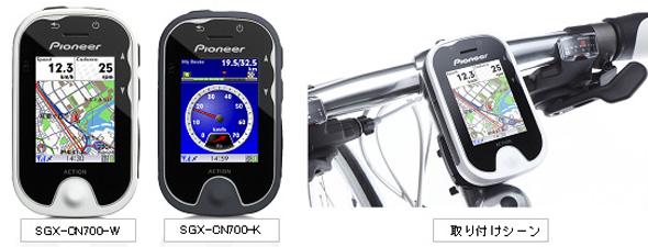 ポタナビ(SGX-CN700)と取り付けイメージ