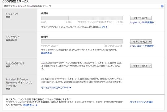 ユーザーページの画面