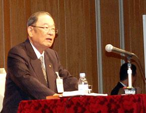 トヨタ自動車 代表取締役会長 張富士夫氏