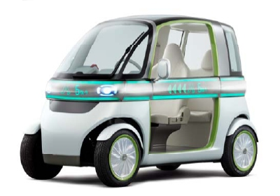 Electric Car Two Seat Sports