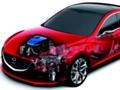 ガソリン車でもハイブリッドに近い燃費を実現か、マツダがキャパシタ採用