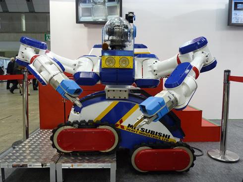大きなロボットアームを持つ「MARS-D」