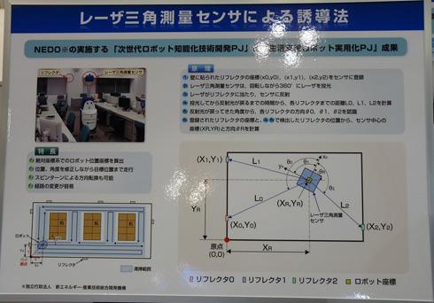 ロボットが自己位置を検出する仕組み