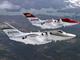 小型ビジネスジェット機「HondaJet」の飛行試験用量産型3号機が初飛行に成功
