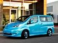 日産自動車がデトロイトショーで商用EV「e-NV200」を公開