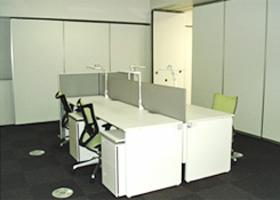 技術研究所内の室内環境比較実験室