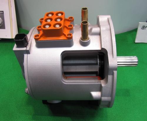 日本電産が開発したEV用SRモーター